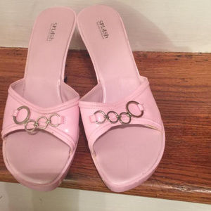 Pink Mule Sandals for Women by Splash